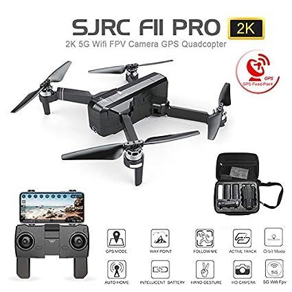 Amyove SJ RC F11 Pro 5G WiFi FPV GPS sin escobillas RC Drone 2K ...