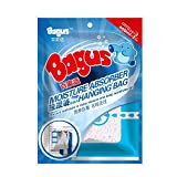Bagus Moisture Absorber Hanging Bag for Control Wardrobe, Cupboard, Cloakroom, Dressing Room and Enclosed Spaces,No More Damp rid of Mold and Mildew,7.8-Ounce,2 Pack