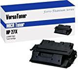 VersaToner - 27X C4127X MICR Toner Cartridge for Check Printing - Compatible with LaserJet 4000, 4050
