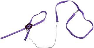 Lomsarsh Harnais de lézard de Reptile réglable en Laisse Câble de halage réglable Câble de lézard en Sortie Corde de Traction pour Ceinture de Traction