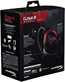 HyperX Cloud II Gaming Headset - 7.1 Surround Sound - Memory Foam Ear Pads - Durable Aluminum Frame - Multi Platform Headset - Works with PC, PS4, PS4 PRO, Xbox One, Xbox One S - Red (KHX-HSCP-RD)