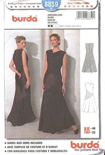 easy patterns for long dresses - 8