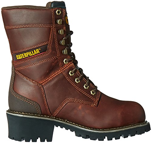 Industrial Steel Waterproof Construction Mens Caterpillar Shoe Clearcut Gingerbread Toe and TqwATCn4