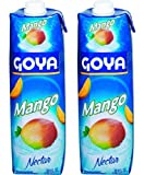 Goya Mango Nectar 33.8oz (Pack of 02)