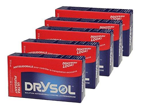 Biosense Clinic Drysol Liquid - Extra Strength 20% 37.5mlx5boxes