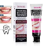 Activated Natural Bamboo Charcoal Toothpaste, Effective Clean Tea, Coffee stains & Discoloration 100g