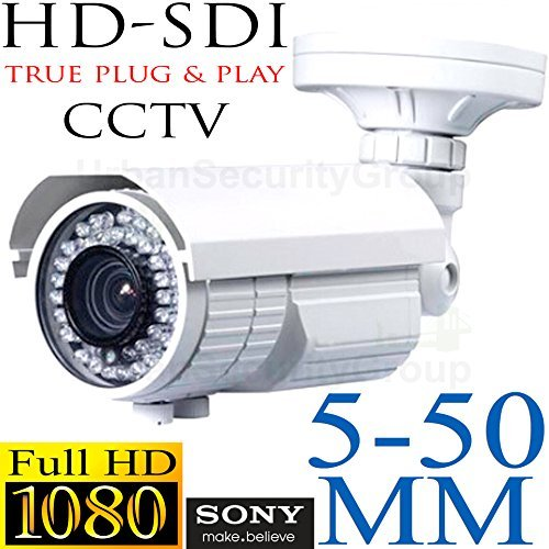 USG HD-SDI High Definition 1080P 2MP CCTV Bullet Security Ca