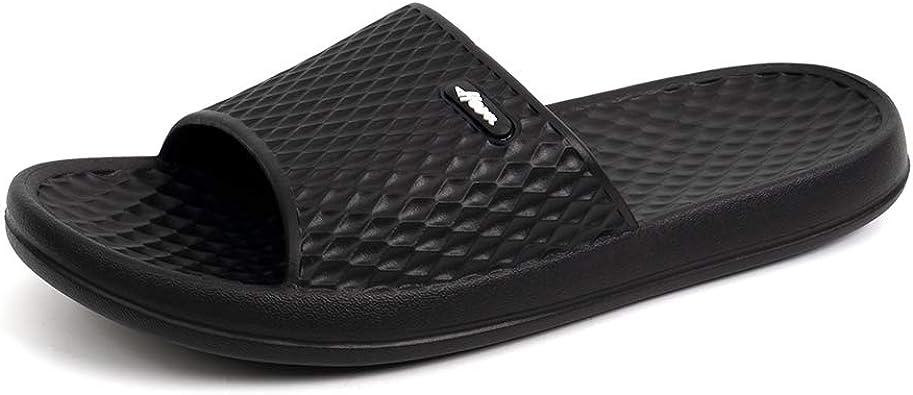 Mens Slip On Beach Bathroom pool Indoor Mule Flip Flops Eva Summer sandals shoe