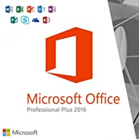 Microsoft Office 2016 Professional Plus for Windows 10 / 8.1 /8 and 7 (Product Key Only) | Downloadable from Microsoft