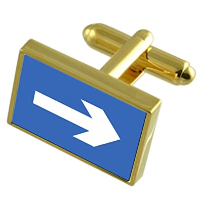 Select Gifts Private Property Sign Gold-Tone Tie Clip Engraved Message Box