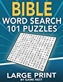 Bible Word Search 101 Puzzles Large Print: Puzzle