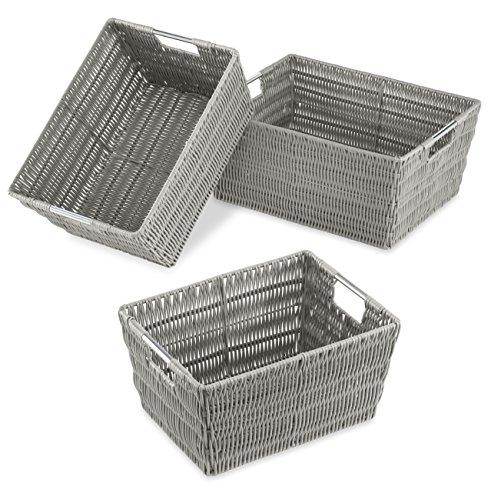 Whitmor  Rattique Storage Baskets