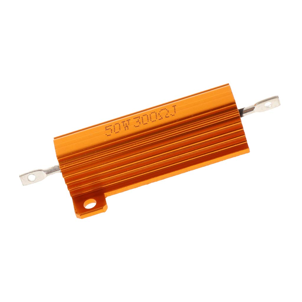 rojo 30R Dorado 75x22x15mm Sharplace Resistencia de Shell Aleaci/ón de Aluminio de alta Potencia de resistencia