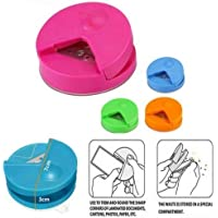 Ferbixo R4 4mm Corner Cutter Rounder Paper/Card/Photo Punch,Pack of 1,Random Color