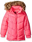 Weatherproof Big Girls' Bubble Jacket (More Styles Available), Pink a, 10/12