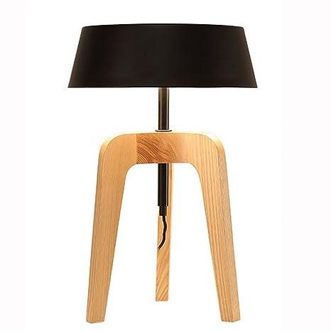 Rollsnowow lámpara de mesa lámpara de escritorio lámpara de ...