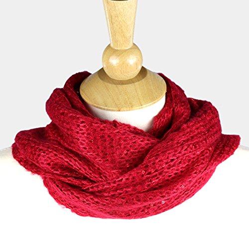 Premium Women's Winter Warm Scarf [Various Colors] Cable Knit Cowl - - Cables Elixir