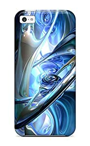 Mary P. Sanders's Shop 3053531K75156563 Pretty Iphone 5c Case Cover/ Center Of Abstract Series High Quality Case