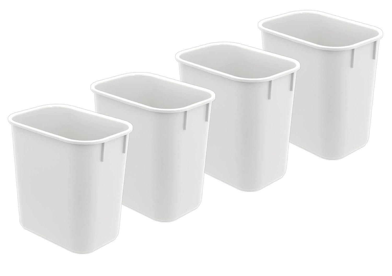 Acrimet Abfalleimer 27qt (4 Stück) (Weiß ) B076KSXMVJ       Der neueste Stil  c73c89