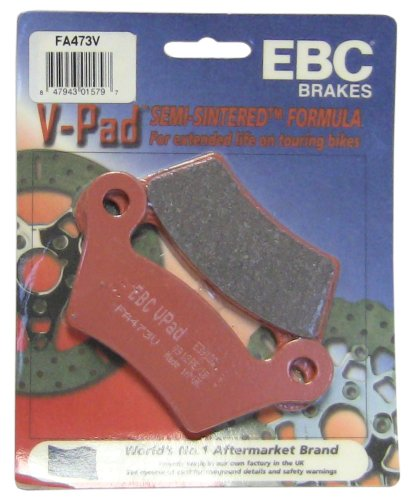 Rs Series Component - EBC Brakes FA473V Semi Sintered Disc Brake Pad