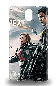 Galaxy Cover 3D PC Case Specially Made For Galaxy Note 3 Hollywood Edge Of Tomorrow Sci Fi Action ( Custom Picture iPhone 6, iPhone 6 PLUS, iPhone 5, iPhone 5S, iPhone 5C, iPhone 4, iPhone 4S,Galaxy S6,Galaxy S5,Galaxy S4,Galaxy S3,Note 3,iPad Mini-Mini 2,iPad Air )