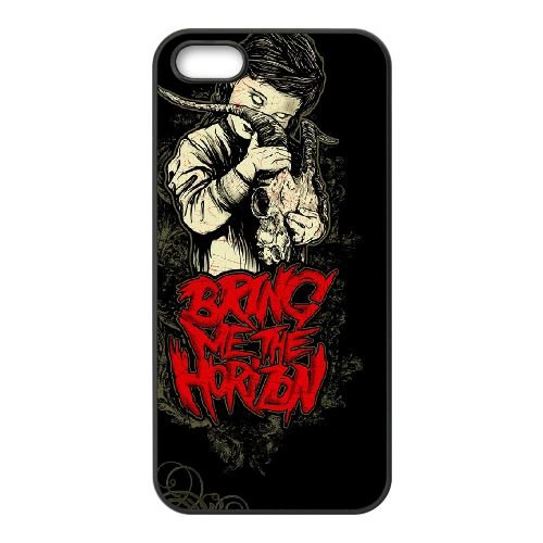 Bring Me The Horizon 008 coque iPhone 4 4S cellulaire cas coque de téléphone cas téléphone cellulaire noir couvercle EEEXLKNBC23809