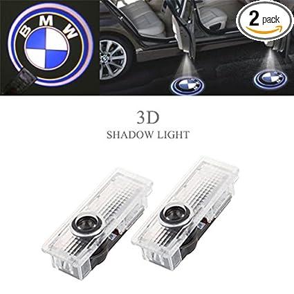 Amazon.com: Ricoy Car Door LED Lighting Entry Laser Ghost Shadow ...