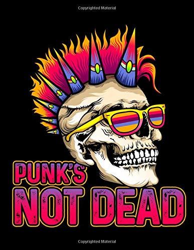 Punk's Not Dead: 2020 Weekly Planner Calendar January - December