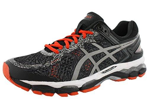 asics-mens-gel-kayano-22-lite-show-running-shoe-carbon-silver-cherry-tomato-14-m-us