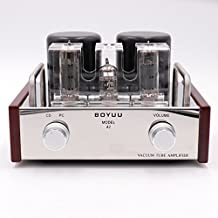 Class A Single End EL84 12AX7B Vintage Stereo Tube Amplifier GD-PARTS