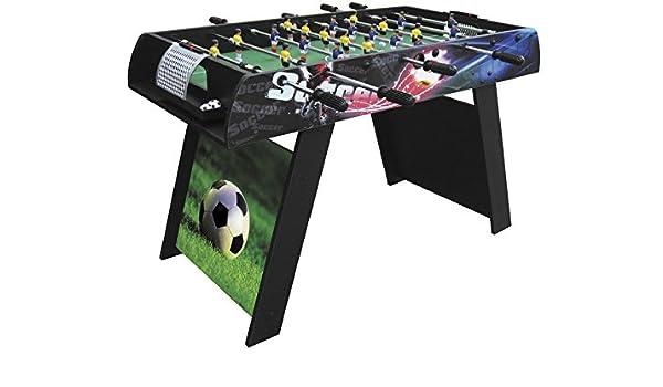 XTURNOS Futbolin 121x61x78.5 cm.: Amazon.es: Juguetes y juegos
