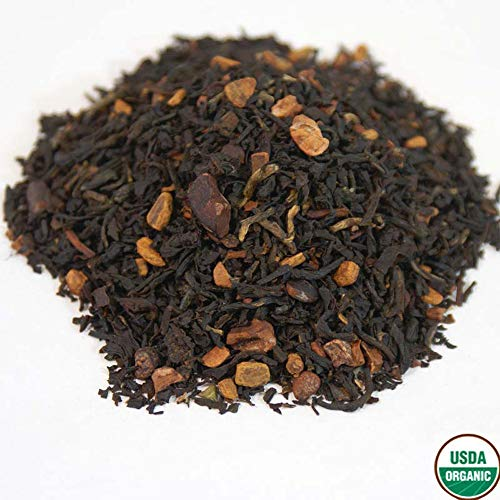 Simpson & Vail, Cinnamon Chocolate Brownie Organic Black Tea, Dessert Collection – 2 Ounce Pkg / 25 Cups