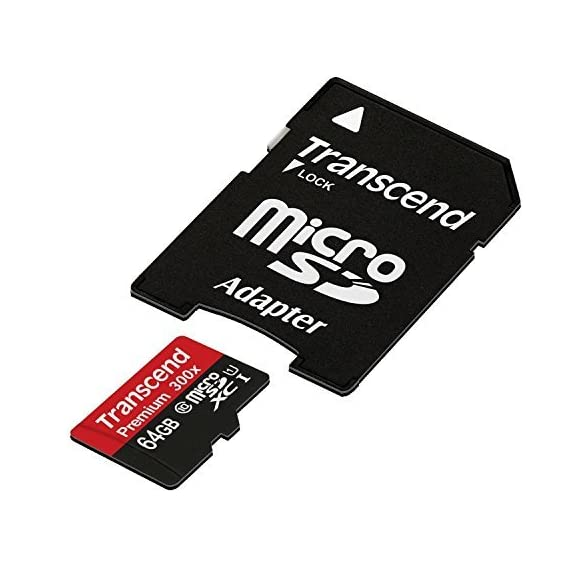 Transcend 8 gb microsdhc class 10 uhs-1 memory card with adapter (ts8gusdu1) 2