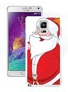 Personalized Santa Claus Samsung Galaxy Note 4 Case 32 White