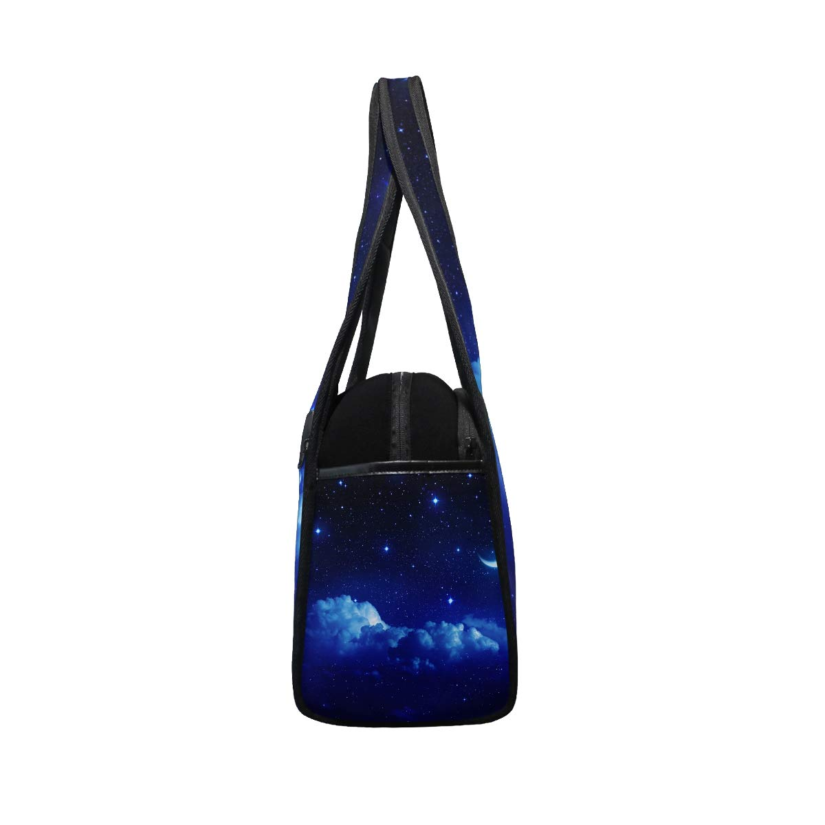 Beauty Moonlight Pattern Women Sports Gym Totes Bag Multi-Function Nylon Travel Shoulder Bag