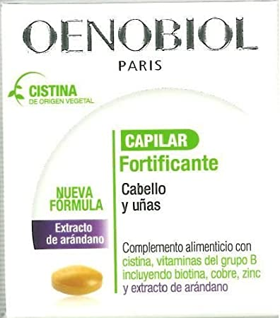 Oenobiol Fortifying Hair & Nails Supplement 60 Tablets About Hair
