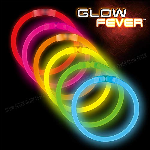 Glow Sticks Bulk 50ct 8inches Glow Bracelets (8