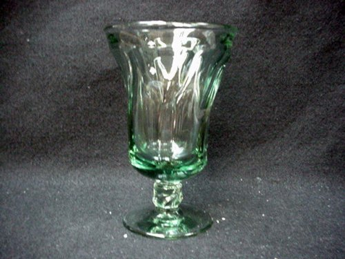 Fostoria Goblet - FOSTORIA WATER GOBLET JAMESTOWN (GREEN) CRYSTAL