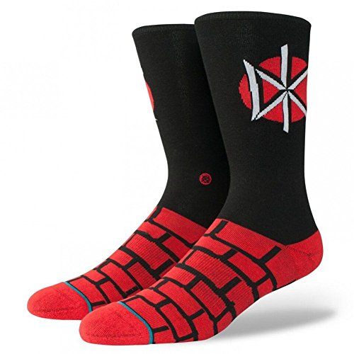 Stance Dead Kennedys Crew Socks - Black - Nyc Street Spring 5