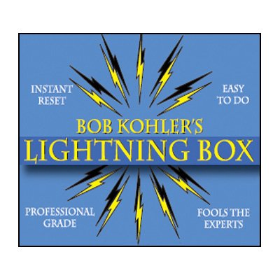 Price comparison product image The Lightning Box (Props and DVD) by Bob Kohler - DVD by Unknown