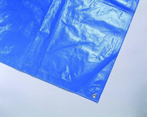 保育学校用品 スポーツブルーシート ハトメ付き 15×15m *砂場カバーにもよく使われています!共同組合認定品 *特注サイズも承ります!