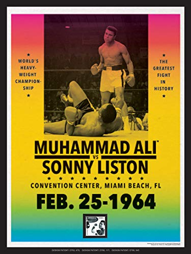 (Imperial Mint Muhammad Ali vs. Sonny Liston 251210SH04 Framed Wall Art, Multicolor)
