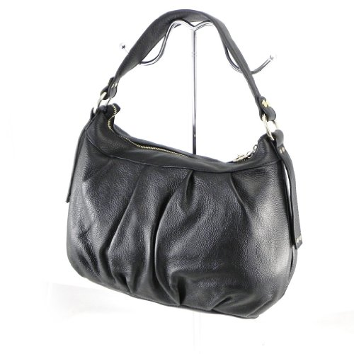 Jacques ESTEREL [G8530] - Sac Cuir 'Jacques Esterel' Noir