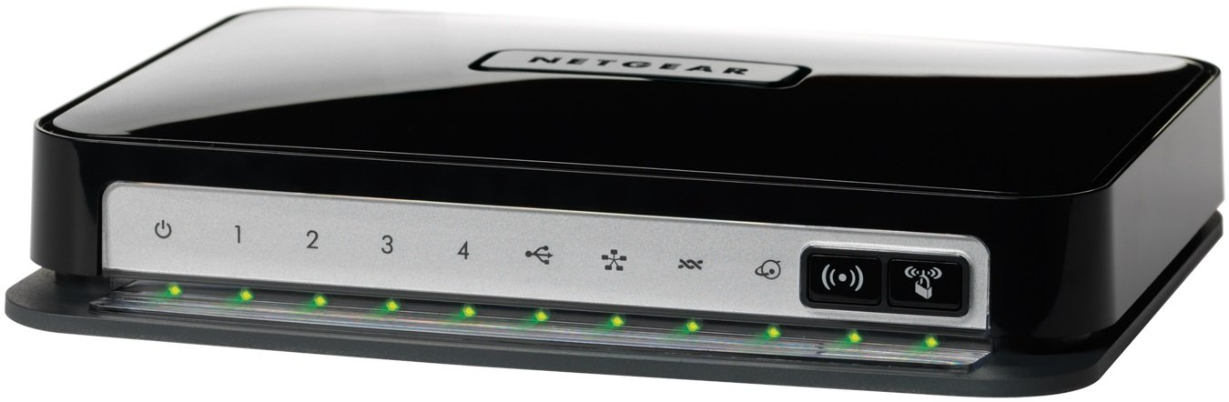 Netgear Wireless-N 300 Router With Dsl Modem Dgn2200 - Wireless Router - Dsl - 4-Port Switch - 802.11B/G/N - Desktop by Netgear