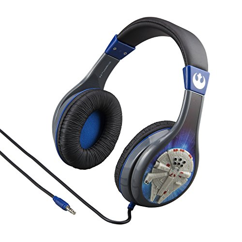 eKids Star Wars Headphones for Kids with Built in Volume Limiting Feature for Kid Friendly Safe Listening]()