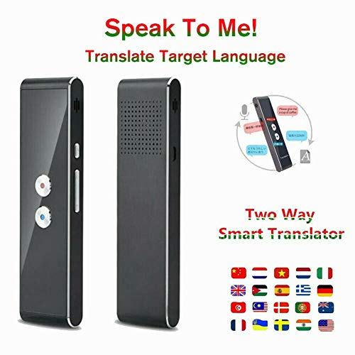 Dragon Honor Translaty MUAMA Enence Smart Instant Real Time Voice Languages Translator (Black)