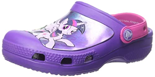 6c90b22205 Crocs CC My Little Pony Clog Girls Slip on J1  Shoes  201191-518-J1  Buy  Online at Low Prices in India - Amazon.in