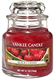 Yankee Candle Small Jar Candle - Black Cherry