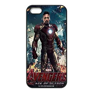 iPhone 5,5S Phone Case Black Avengers Age Of Ultron DTW8069799