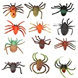 12pcs Assorted Plastic Bugs Insects Kids Toys Party Goody Bag Filler Favours